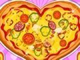 Receita de pizza de coração