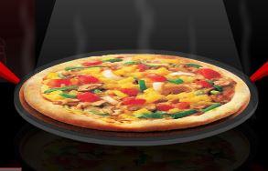 Receita de pizza vegetariana
