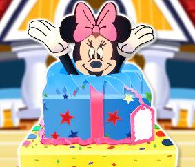 Receita do bolo da Minnie