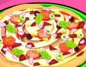 Rechear massa de pizza