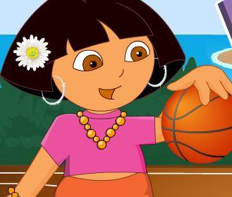Roupas para Dora no basquete