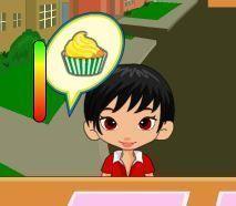 Servir cupcakes para crianças