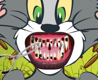 Tom e Jerry dentes estragados