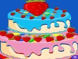 Vender bolo para crianças