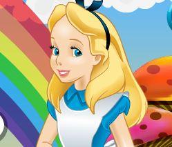 Vestir Alice no País das Maravilhas