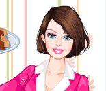 Vestir Barbie chefe de cozinha
