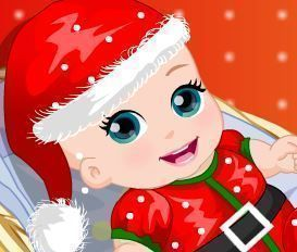 Vestir bebê natalino