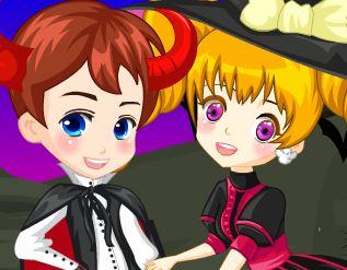 Vestir casal para Halloween