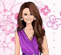 Vestir famosa Selena Gomez