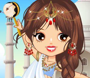 Vestir indiana princesa