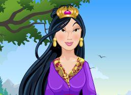 Vestir Mulan moda