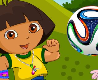 Vestir roupas na Dora Copa do Mundo