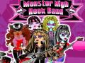 Vestir Monster High para banda de rock